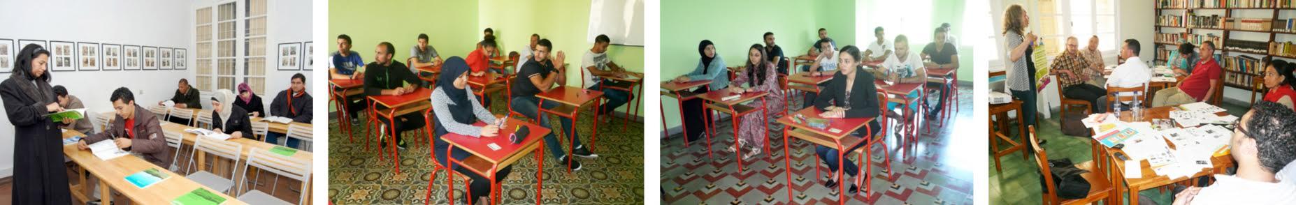 Dmg Marokko, apprendre l'allemand